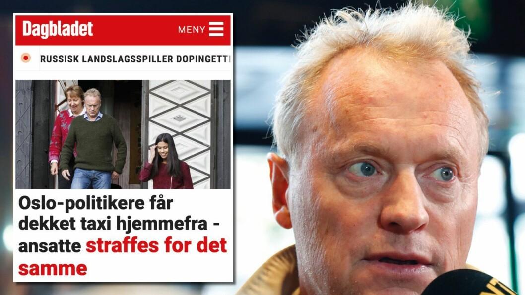 Mediene bør kikke oslopolitikerne nærmere i kortene. Men dette var ikke i nærheten av godt nok, mener Medier24-redaktør Gard L. Michalsen om Dagbladets vinkling.