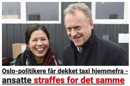 ...ny vinkling - av enda lurere og gladere politikere.