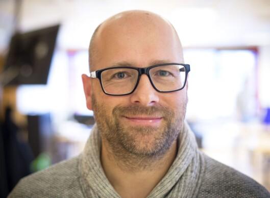 Redaktør Lars Østraat i Trønderbladet.