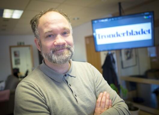 Daglig leder Stig Mikkelsen i Trønderbladet.