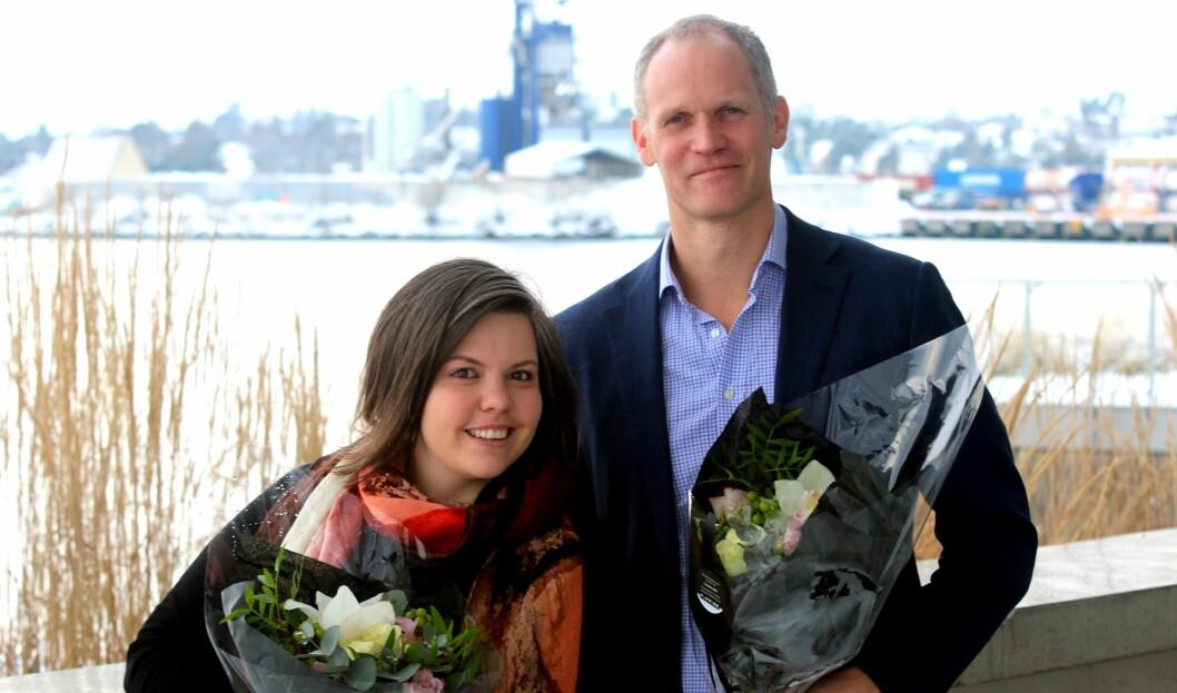 Kaia Tetlie og Mats Ektvedt rykker opp og blir partnere i CC.
