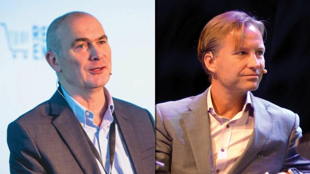 Direktør Jan Morten Drange og styreleder Runar Pahr Andresen i ANFO.