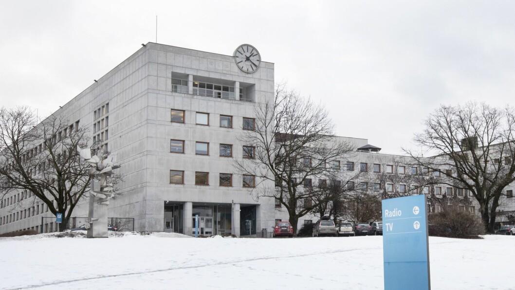 NRKs hovedkontor på Marienlyst.