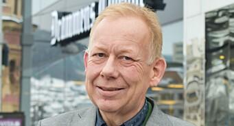 Lars Johnsen begynte i Drammens Tidende i 1990. Nå har han for første gang blitt valgt til klubbleder