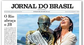 I 2010 la de ned papiravisa og satset kun på nett. Åtte år senere startet Jornal do Brasil opp trykkpressa igjen