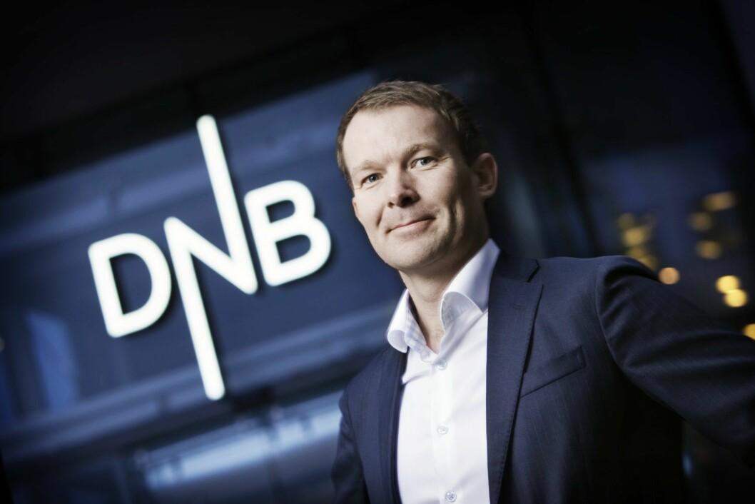 Konserndirektør Thomas Midteide i DNB.