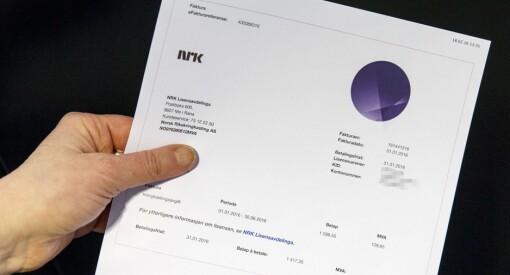 NRKs lisensavdeling har sendt ut 252.500 inkassovarsler til folk som ikke har betalt lisens