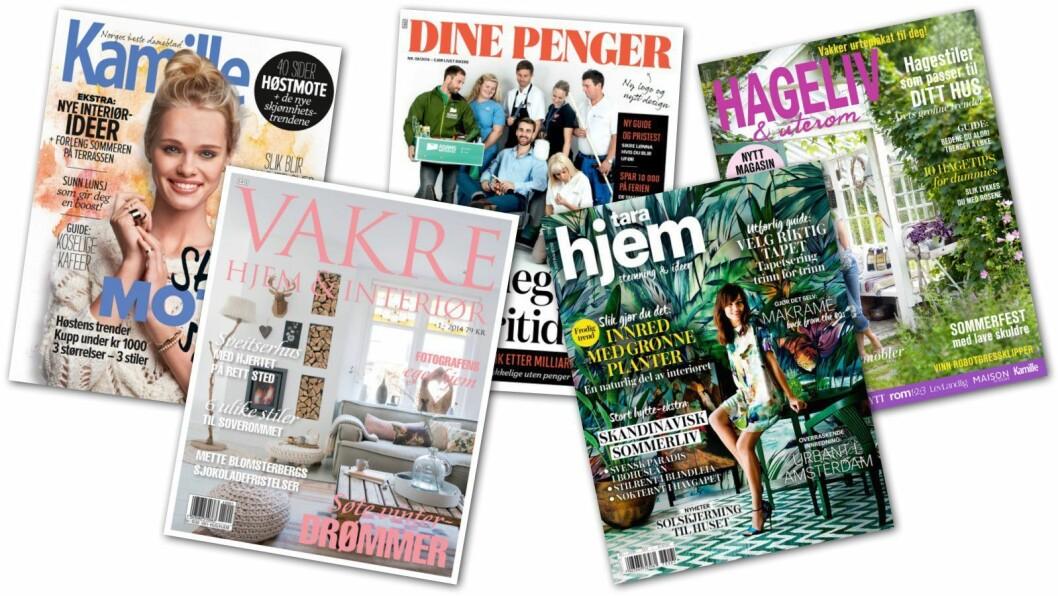 Disse magasinene hadde størst vekst i fjor.