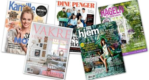 Det er et stabilt marked for magasiner og ukeblad - og fortsatt vekst for mange titler