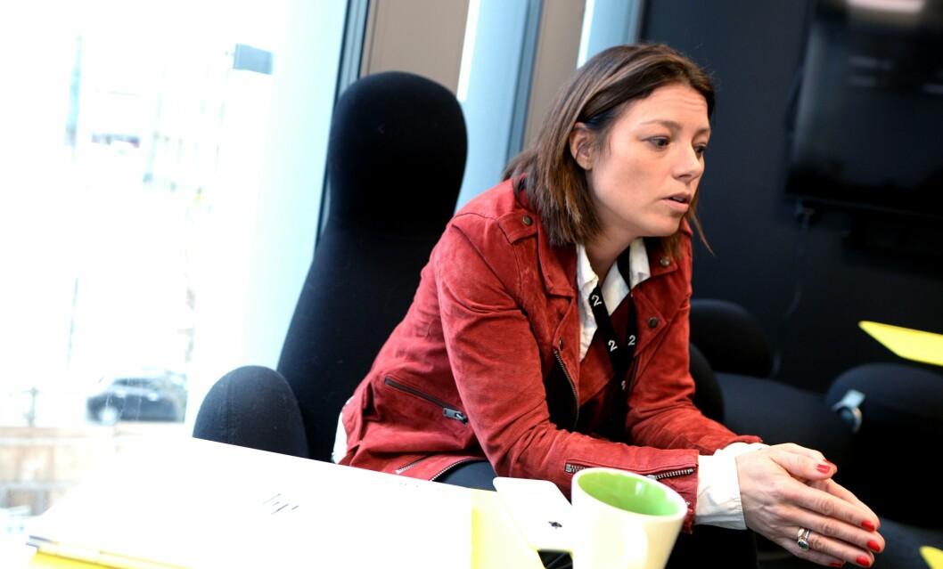 SARAH WILLAND, organisasjons- og kommunikasjonsdirektør i TV 2 forteller om de siste måneders håndtering av MeToo-saker.