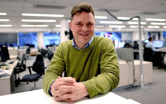 Sjefredaktør Espen Egil Hansen i Aftenposten.