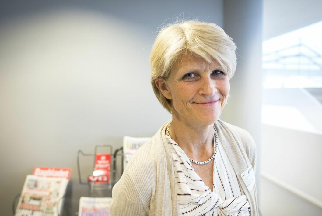 Leder Siri Gedde-Dahl i Pressens offentlighetsutvalg. Hun er til daglig gravesjef i Dagbladet.