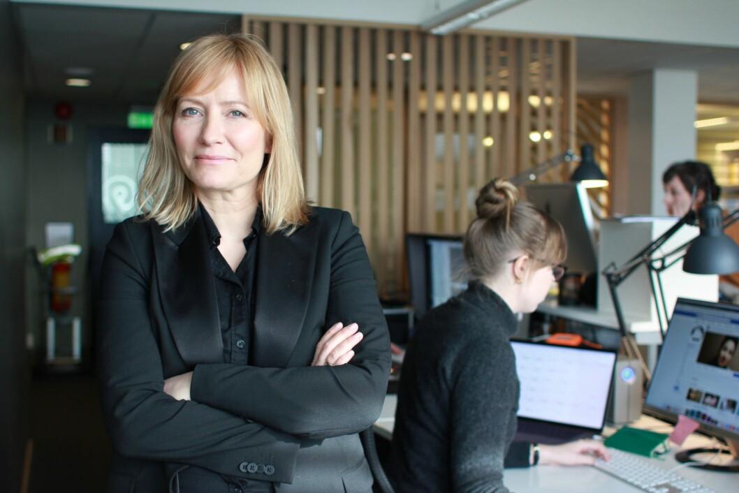Tidligere sjefredaktør og administrerende direktør Ashild Mathisen i Vårt Land.