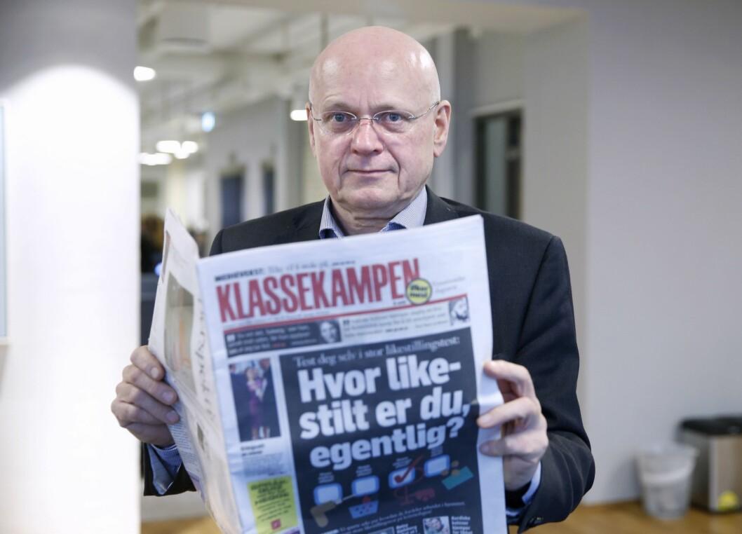 Politisk redaktør Bjørgulv Braanen i Klassekampen.