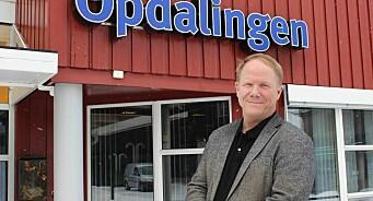 Tore Aasheim gir seg etter fem år som redaktør for lokalavisa Opdalingen - nå skal han digitalisere Cupido