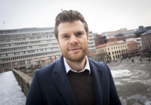 Andreas C. Halse, samfunnsdebattant og daglig leder i Svenssonstiftelsen