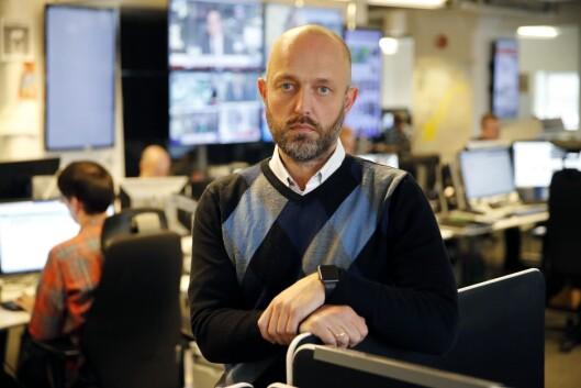 Sjefredaktør og direktør Mads Yngve Storvik i NTB.