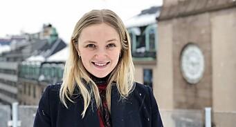 Vilde Mebust Erichsen (25) går fra Norges største nettavis til en av de minste: Blir journalist i Shifter