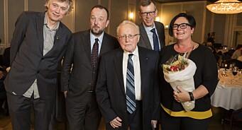 Kjetil B. Alstadheim er Årets redaktør i Oslo og Akershus. Hedersprisen til Per Egil Hegge. Se alle prisvinnerne her