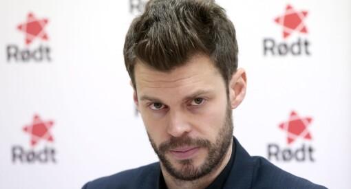 Bjørnar Moxnes og Rødt er sinte på NRK. Reagerer kraftig på at de ble holdt utenfor «Debatten» om Sylvi Listhaug
