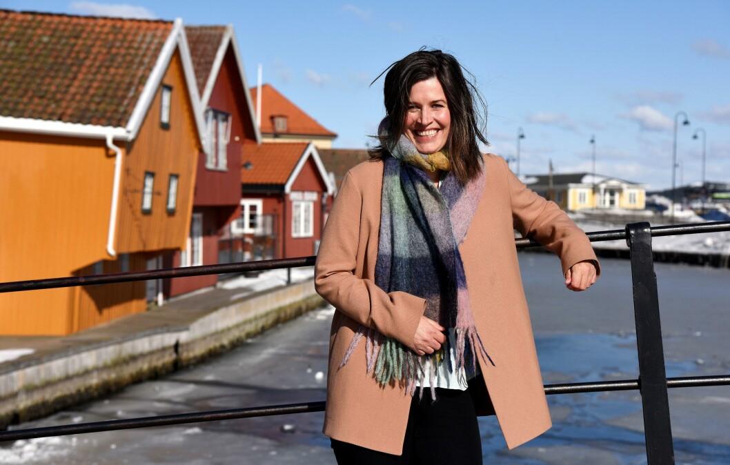 HJEMME: I Kragerø er Veronica Westhrin hjemme. Hun skal tilbake etter årene i USA. Men nå er fokuset å gjøre en god jobb for NRKs seere, lyttere og lesere fra Washington D.C.