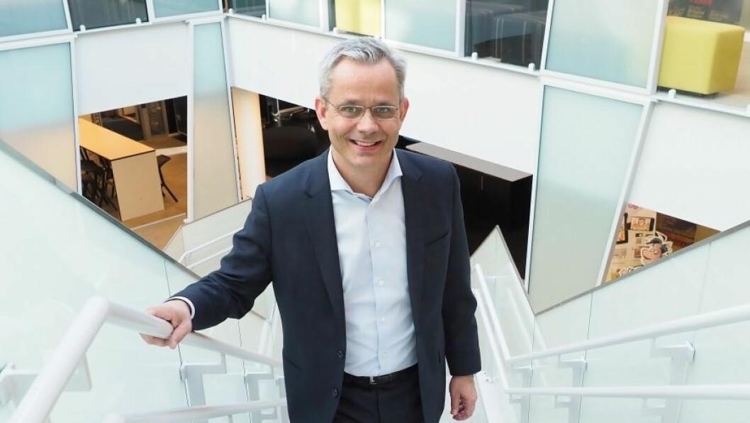 Espen Asheim, administrerende direktør Egmont Publishing AS.