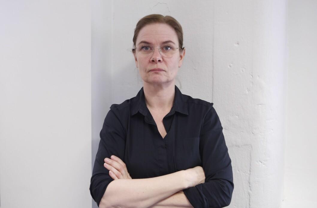 Grethe Brandsø, klubbleder i NTB.
