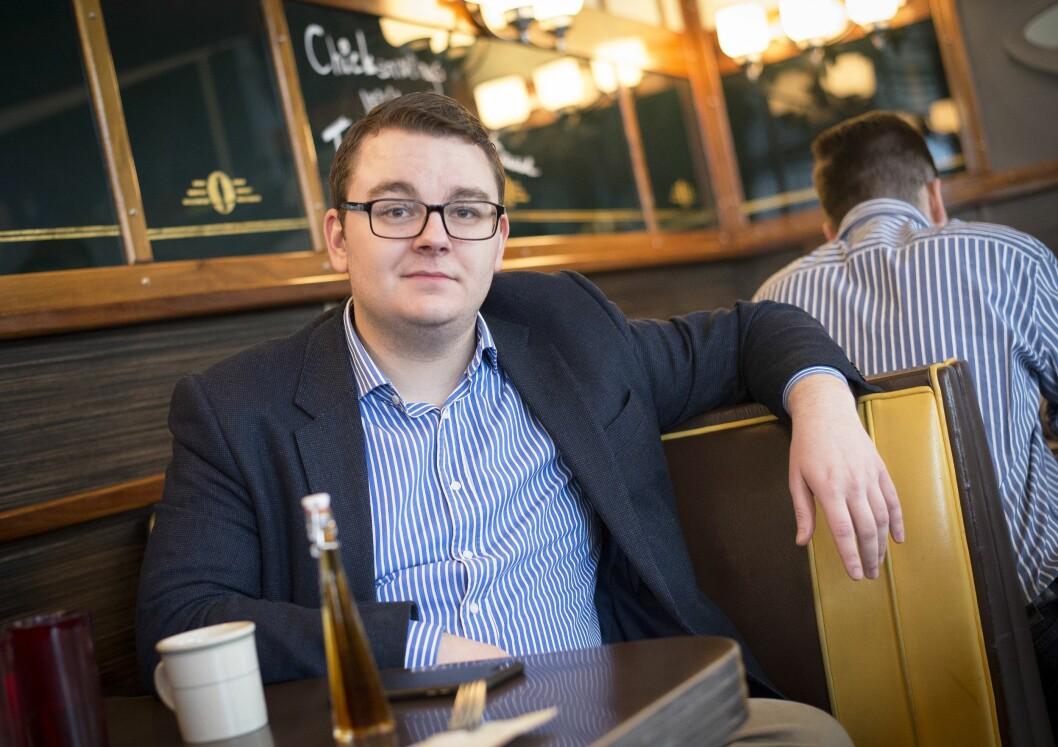 Tidligere politisk rådgiver Espen Teigen (25).