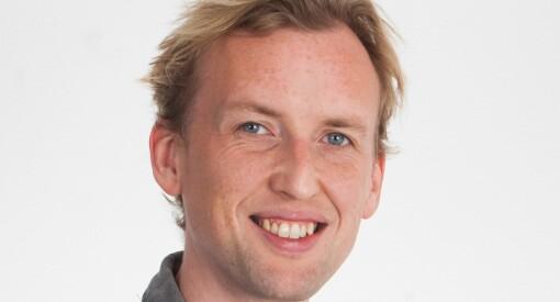 Fredrik Dyrnes Svendsen (34) er ansatt som ny innholdsutvikler i Amedia