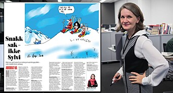 Faktafeil fra VGs politiske redaktør Hanne Skartveit: Skrev at «hundrevis av millioner er på flukt i verden», men det stemmer ikke