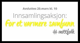 «Et varmere samfunn» og #mittfolk: Fundraiser for Leger Uten Grenser med problematisk emneknagg