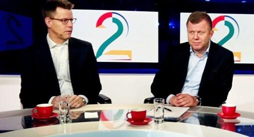 Mens TV 2 vil ha statsstøtte, tar eierne ut stadig mer lønn: De to danske Egmont-toppene tjente 45,4 millioner kroner i fjor