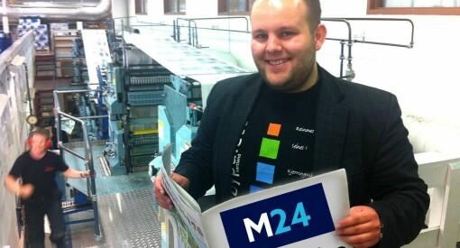 Medier24 satser videre: Nå lanserer vi papiravis