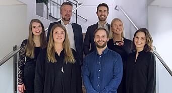 VG Partnerstudio vokser videre: Økte omsetningen med 60 prosent, har passert 70 millioner kroner og ansatt 8 nye medarbeidere