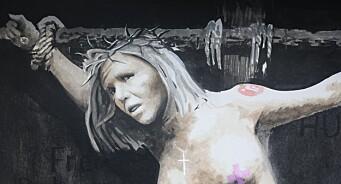 «Jeg har selvsagt ikke et ønske om å korsfeste Listhaug. Bildet er ment som en kommentar til hennes retorikk»