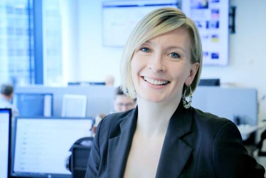 Berit B. Njarga, konstituert redaktør i Dinside.
