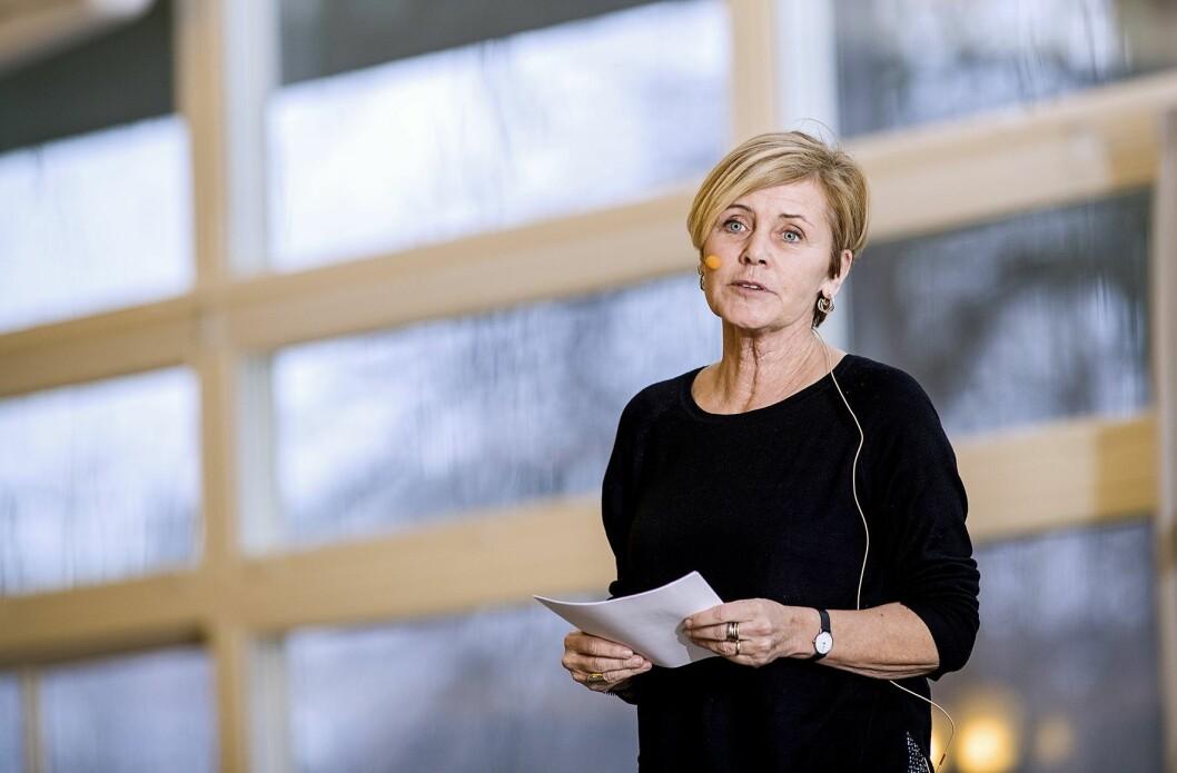 Den danske kulturminister Mette Bock.