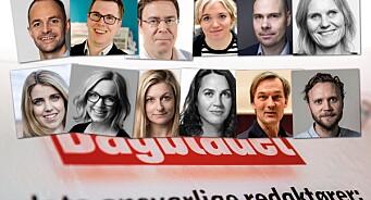 Elle, melle, hvem blir Dagbladets neste sjef? Her er 12 navn vi tror kan være aktuelle