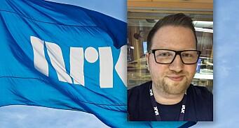 Andreas Nilsen Trygstad er fast ansatt som multimediejournalist i NRK Nordland