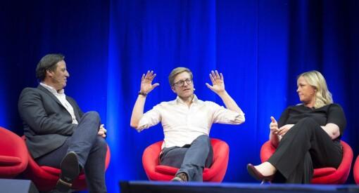 Kjærestene Kjersti Stenseng og Tom Tvedt har begge opplevd pressens tøffeste sider. Fredag snakket de ut foran 600 journalister på SKUP