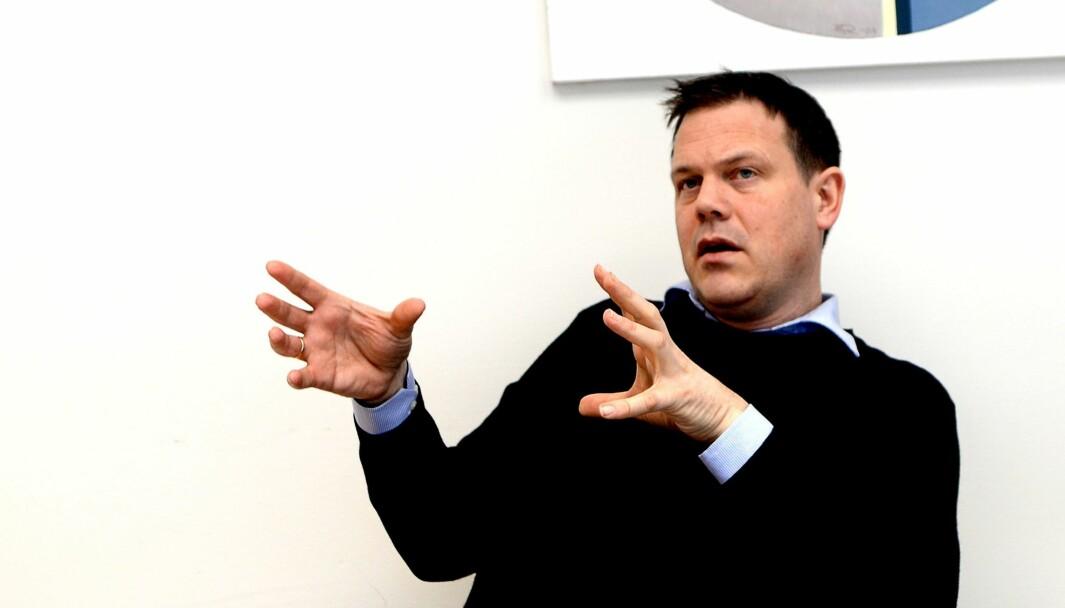 Fred Gjestad, redaktør og daglig leder i Raumnes.