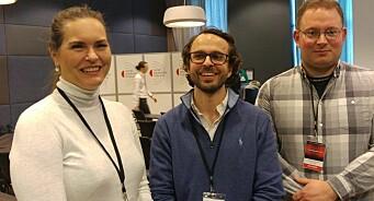 Aslak Sommerfelt Skretting er valgt til ny leder i Norsk lokalradioforbund. Svein Larsen ga seg som styreleder etter fire år