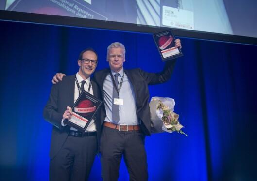 VGs Ronny Berg, Stian Eisenträger og Espen Rasmussen vant IR-prisen i 2018