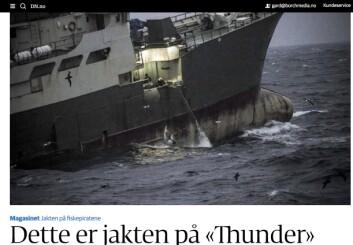 Jakten på Thunder.