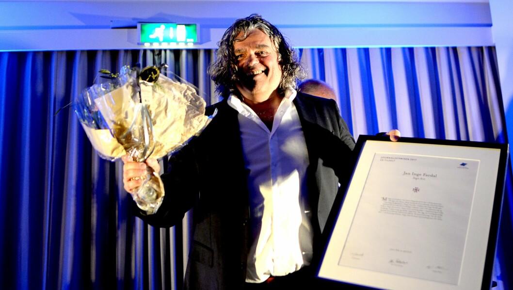 Jan Inge Fardal, ansvarlig redaktør i Sogn Avis.