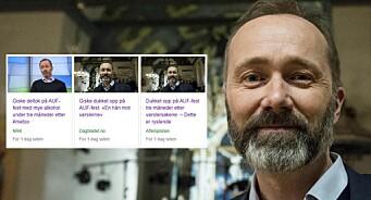 VG beklager vinkling på Giske-saken. NRK og NTB har også endret sine saker. Men interjvuobjekter fastholder kritikken