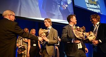 Endelig kunne Dagens Næringsliv juble for SKUP-prisen igjen! Diplomer til VG, NRK, Dagbladet og Adressa. Se alt om vinnerne her