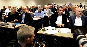 Styreleder i Mentor Medier blir ikke kastet etter Vårt Land-bråket - men hele 44,6 prosent stemte for mistillit