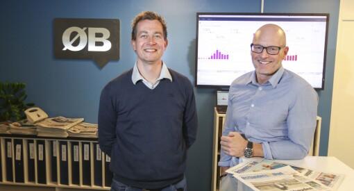 Nå blir han nyhetsredaktør for hele Follo: Anders Nordheim Dahl fra Oppegård Avis til Østlandets Blad