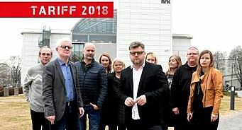 NRK-journalistene ligger 110.000 kroner bak andre store mediehus. Slik må det også være